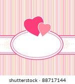 birthday  greeting  valentine... | Shutterstock . vector #88717144