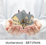 Your new house - stock photo