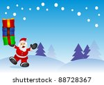 christmas background | Shutterstock .eps vector #88728367