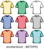 Blank T Shirts Illustration