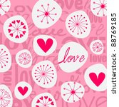 vector cute hand drawn style... | Shutterstock .eps vector #88769185