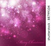 vector christmas background...   Shutterstock .eps vector #88799104