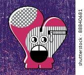 monster   Shutterstock .eps vector #88840681