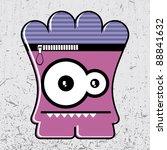 monster | Shutterstock .eps vector #88841632
