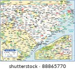 north carolina state map | Shutterstock .eps vector #88865770
