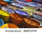 Earthenware - stock photo
