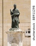 Small photo of Alexander VI pope statue in Xativa, Valencia, Spain
