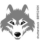 wolf | Shutterstock .eps vector #88952404