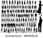 fashion people | Shutterstock .eps vector #88983010