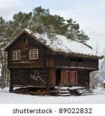 """old wooden """"stabbur""""  combined..."""
