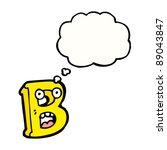 cartoon character letter b | Shutterstock .eps vector #89043847