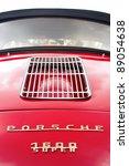 Постер, плакат: A Red Porsche Classic