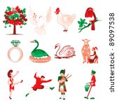 12,12th,bird,calling,christmas,clip art,colors,dancing,days,december,decorated,drummers,drumming,eggs,french hens