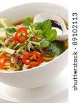 penang assam laksa  malaysian... | Shutterstock . vector #89102113