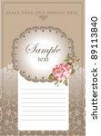 universal design of the... | Shutterstock .eps vector #89113840