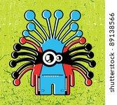 monster | Shutterstock .eps vector #89138566