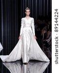 barcelona   may 13  a model... | Shutterstock . vector #89144224