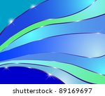 abstract background with  waves....
