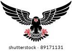 black eagle | Shutterstock .eps vector #89171131