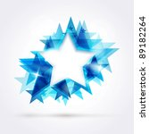abstract star background.... | Shutterstock .eps vector #89182264