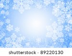 abstract glowing christmas... | Shutterstock . vector #89220130