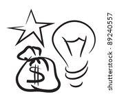 Star  A Light Bulb And A Bag O...