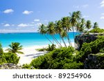 Bottom Bay, Barbados, Caribbean - stock photo