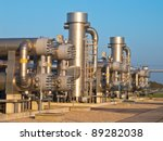 natural gas processing site... | Shutterstock . vector #89282038