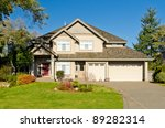residential house in vancouver... | Shutterstock . vector #89282314
