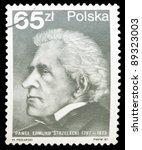 poland   circa 1987  a stamp... | Shutterstock . vector #89323003