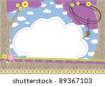 baby background | Shutterstock . vector #89367103