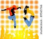 abstract dance background ... | Shutterstock .eps vector #89565766