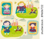 child's background | Shutterstock .eps vector #89606722