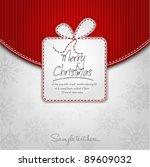 elegant christmas background... | Shutterstock .eps vector #89609032
