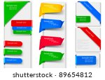 big collection of colorful... | Shutterstock .eps vector #89654812