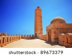Tower of the Ribat Sousse, Tunisia - stock photo