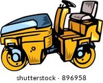steamroller.vector illustration | Shutterstock .eps vector #896958