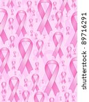 aids ribbons on pink background.... | Shutterstock .eps vector #89716291