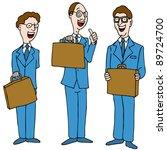 an image of a legal men wearing ... | Shutterstock . vector #89724700