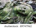 forgotten sleeping young stone...   Shutterstock . vector #89747962