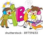 starting school | Shutterstock .eps vector #89759653