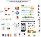 web graphics collection | Shutterstock .eps vector #89793955