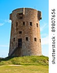Coastal Tower Of Jersey Island...