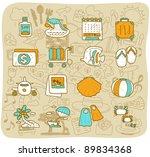 mocha series    travel beach... | Shutterstock .eps vector #89834368