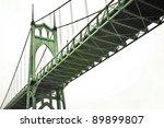 St. John's Bridge Spanning The...