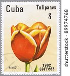 cuba   circa 1982  a stamp... | Shutterstock . vector #89974768