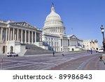 Stock photo us capitol building washington dc 89986843