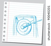 Gong drawing