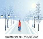 active,activity,avenue,christmas,clothes,clothing,coat,cold,countryside,december,deciduous,eps 10,fashion,female,flora