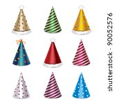party hat set | Shutterstock .eps vector #90052576